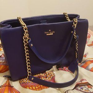 Kate Spade Royal Blue Purse
